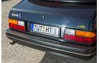 Saab 900 S Cabrio, Heck, Heckleuchte