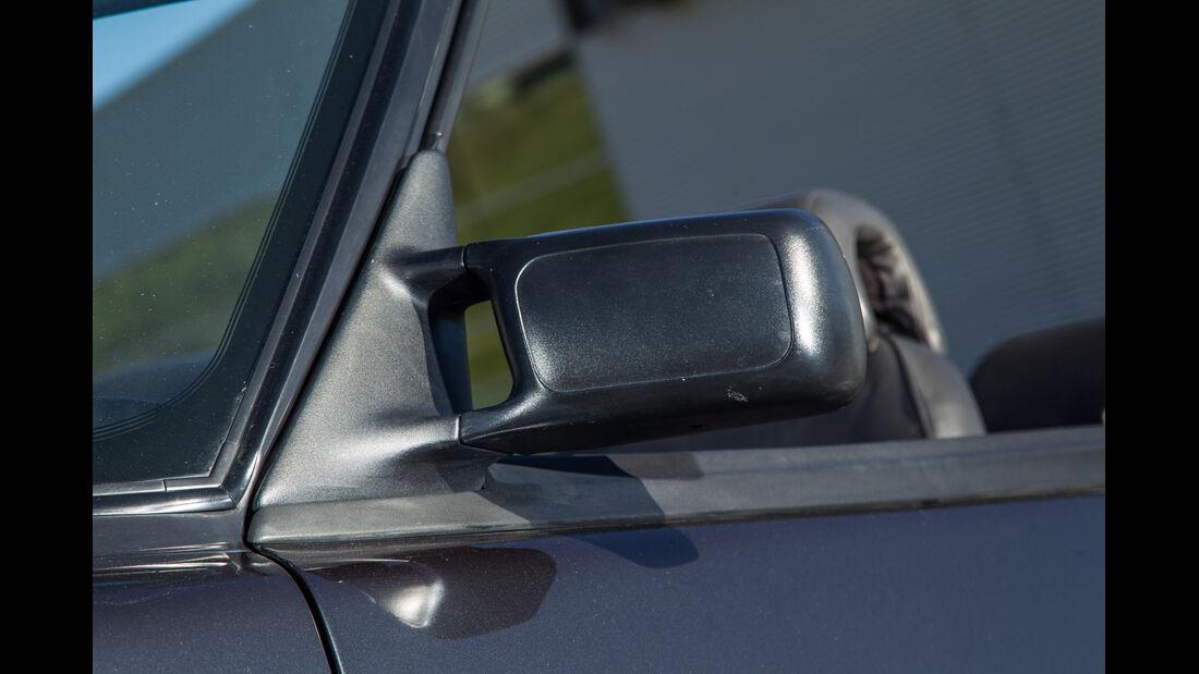 Saab 900 S Cabrio, Seitenspiegel