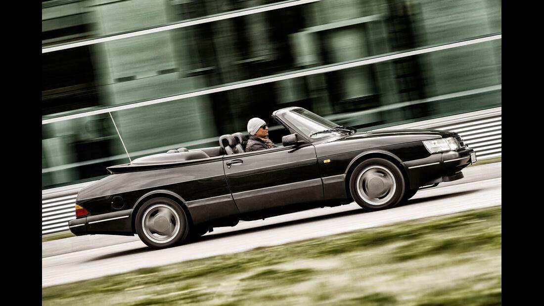 Saab 900, Seitenansicht