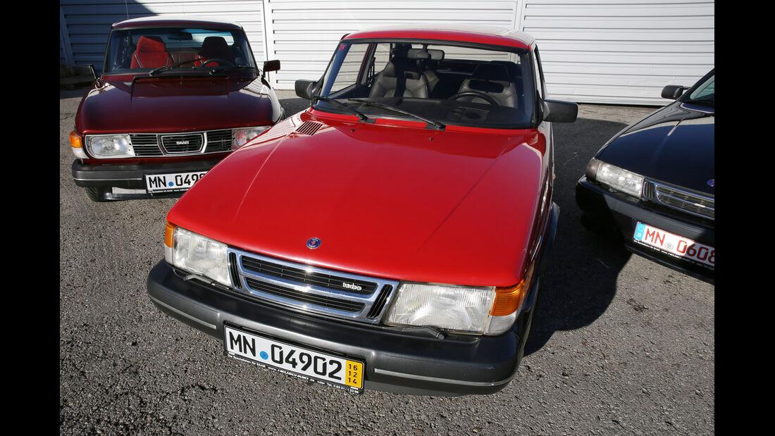 Saab 900 TURBO 16, Frontansicht