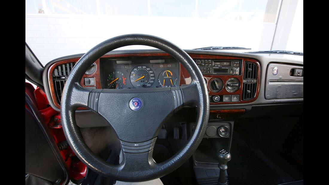 Saab 900 TURBO 16, Lenkrad