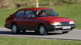 Saab 900 TURBO 16, Seitenansicht