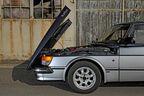 Saab 900 Turbo DeLuxe, Baujahr 1984 offene Motorhaube