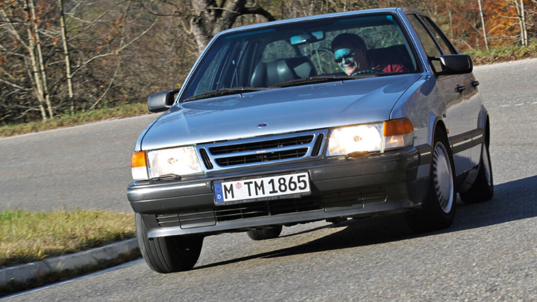 Saab 9000 CD, Frontansicht