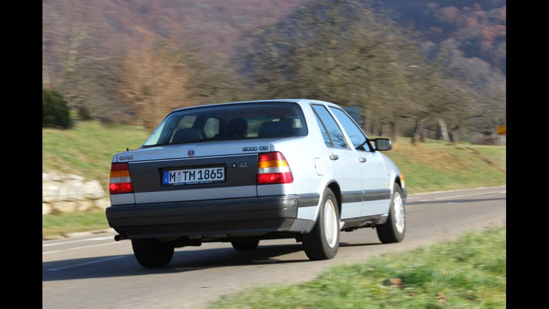 Saab 9000 CD, Heck