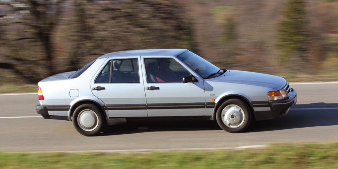 Saab 9000 CD, Seitenansicht
