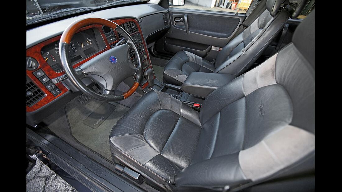 Saab 9000 CSE 2.0 T, Cockpit