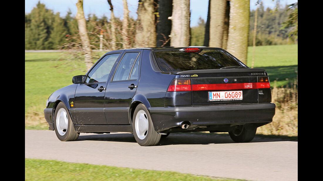 Saab 9000 CSE 2.0 T, Heckansicht