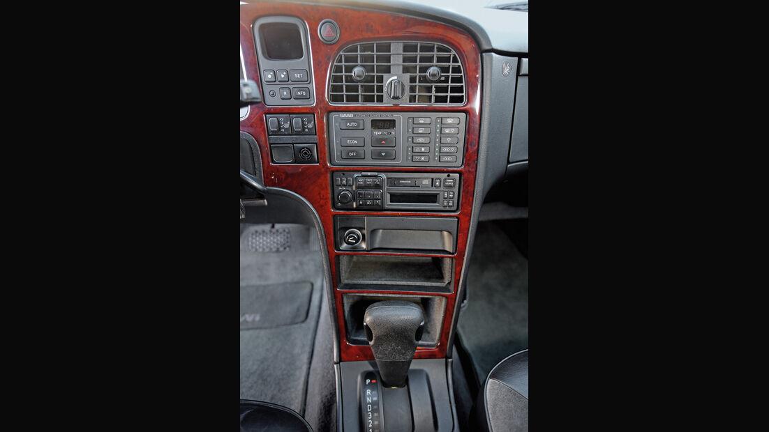 Saab 9000 CSE 2.0 T, Mittelkonsole