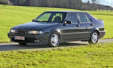 Saab 9000 CSE 2.0 T, Seitenansicht