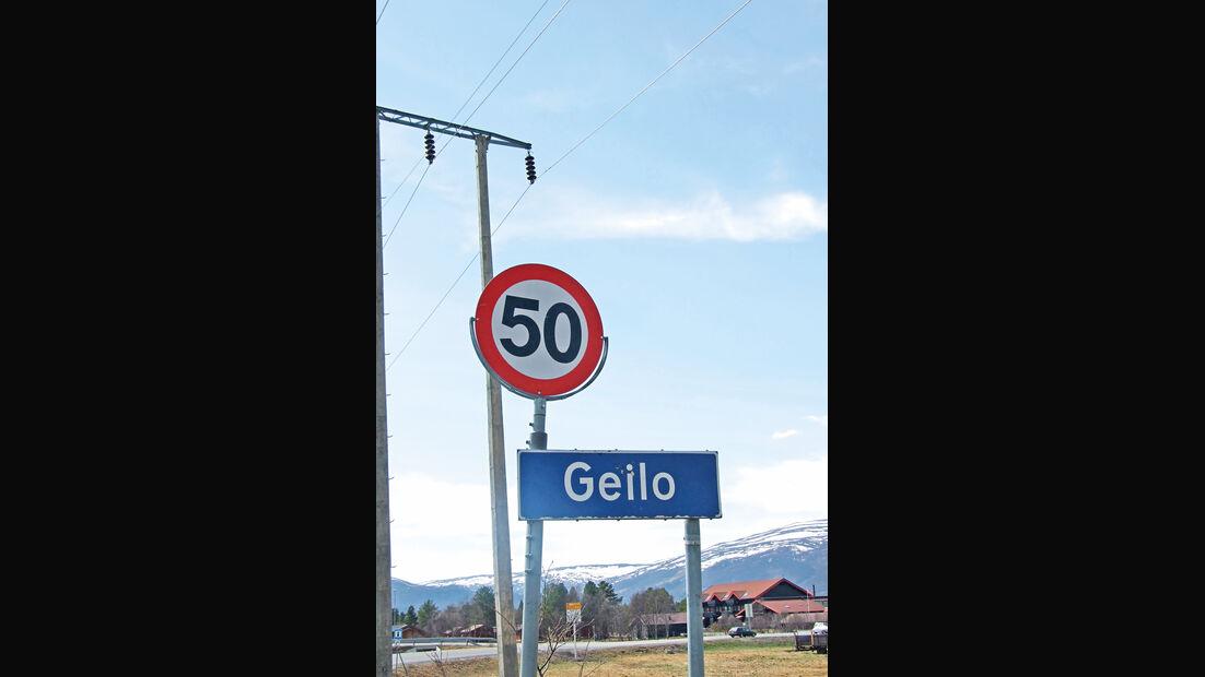 Saab 9000, Schweden, Geilo