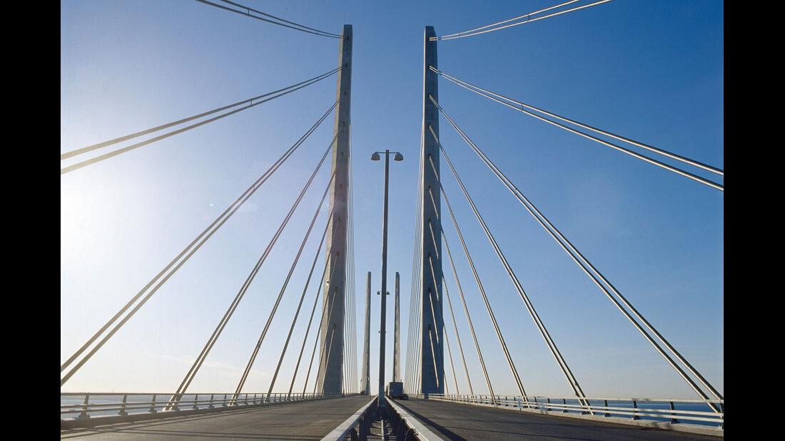Saab 9000, Schweden, Öresundbrücke