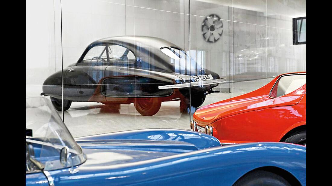 Saab 9000, Schweden, Saab-Museum, Trollhättan