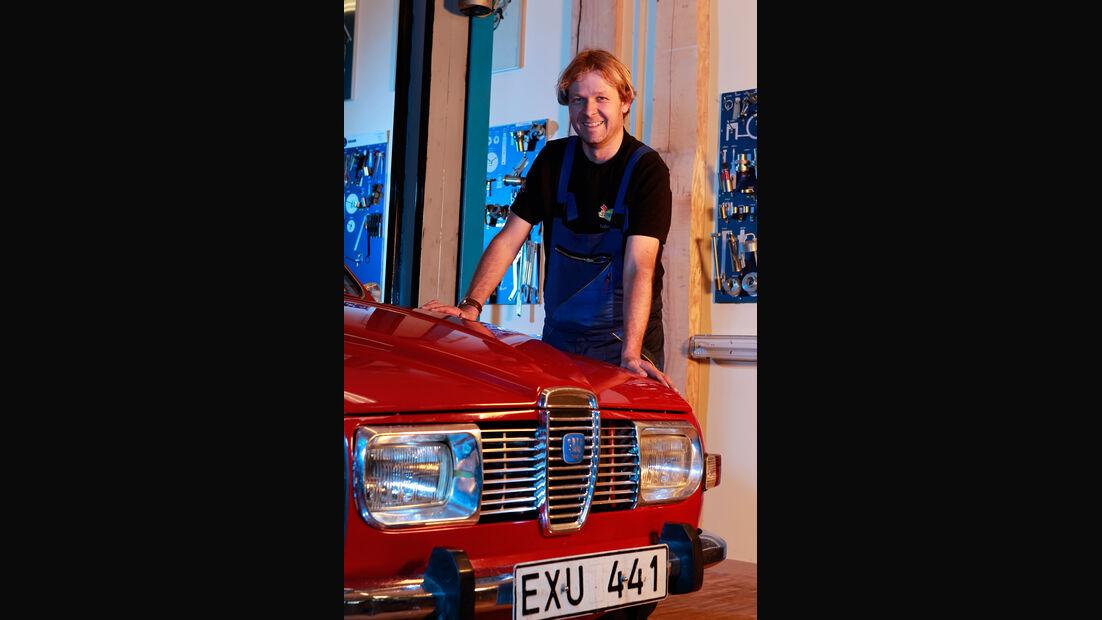 Saab 96 V4, Matthias Grauer