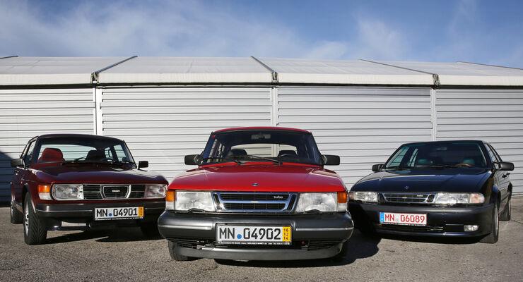 Saab 99, 900, 9000, Frontansicht