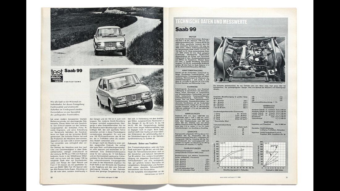 Saab 99, Alter Artikel