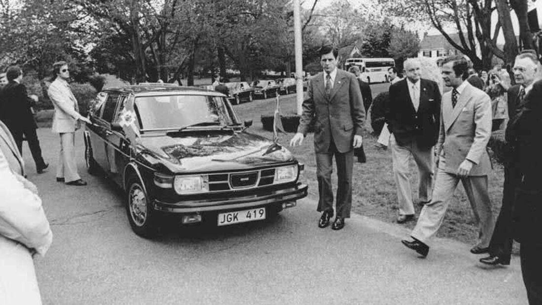 Saab 99 Stretch-Limousine Carl XVI Gustaf (1976)