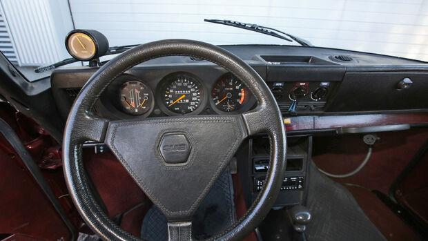 Saab 99 Turbo, Lenkrad