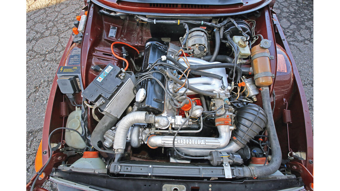 Saab 99 Turbo, Motor