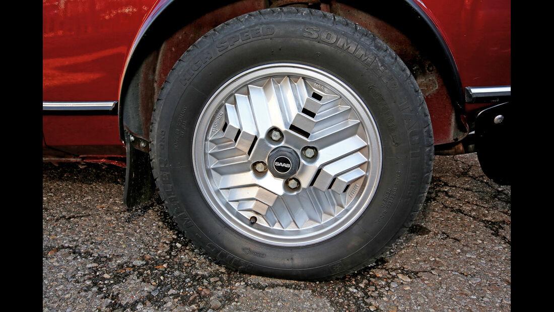 Saab 99 Turbo, Rad, Felge