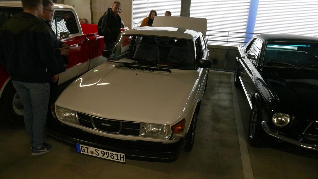 Saab 99 auf der Bremen Classic Motorshow 2020