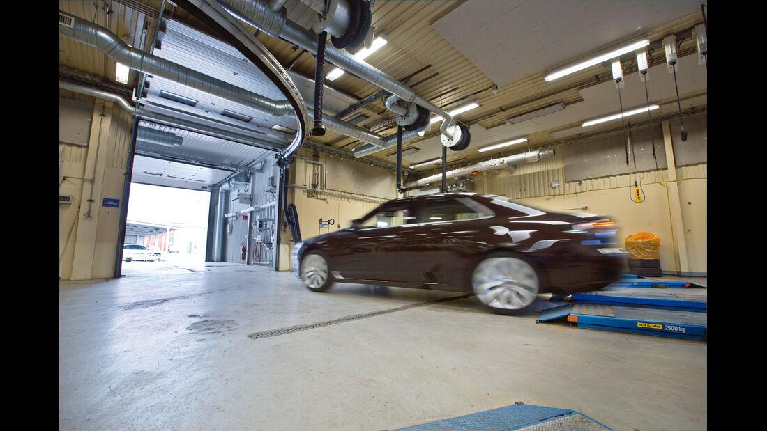Saab, Ausfahrt