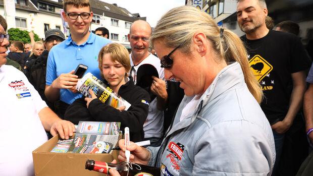 Sabine Schmitz - Rennfahrerin