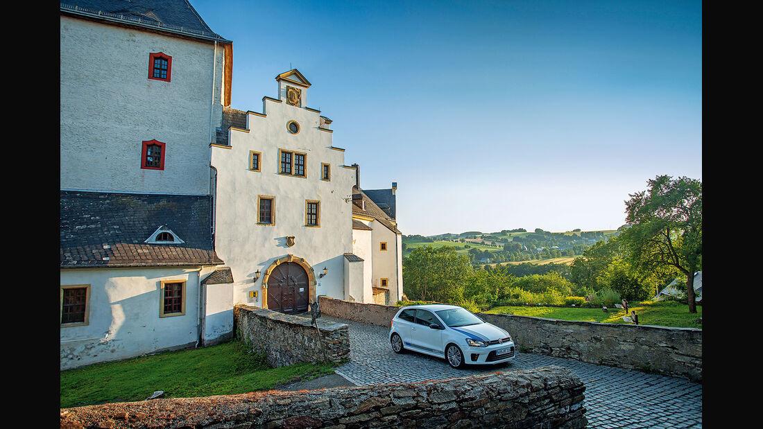 Sachsen Classic 2015, 40 Jahre VW Polo