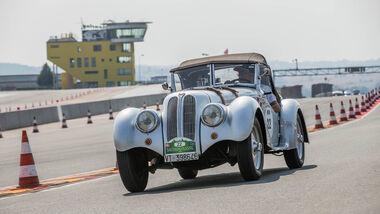 Sachsen Classic 2015, Aghem/Conti, BMW 328
