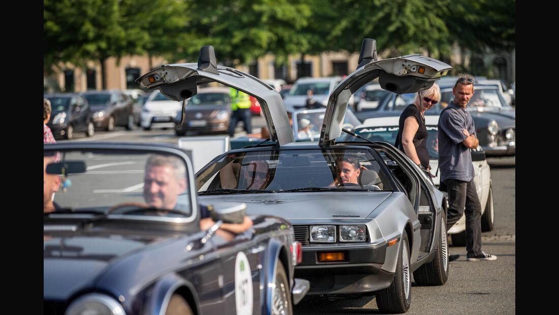 Sachsen Classic 2015, Hendel/Herbrig, DeLorean DMC-12