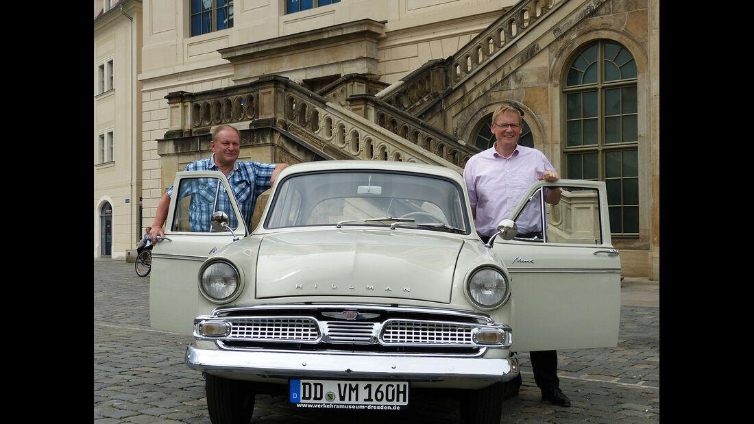 Sachsen Classic 2015, Hillman Minx III A