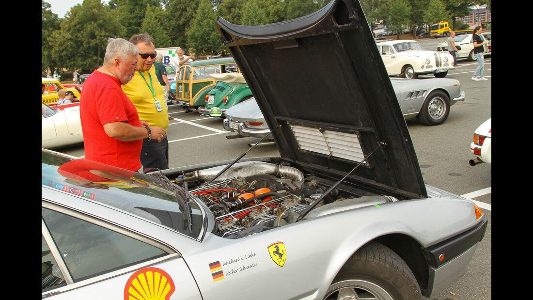 Sachsen Classic 2015, V12-Ferrari Michael Ernst Linke