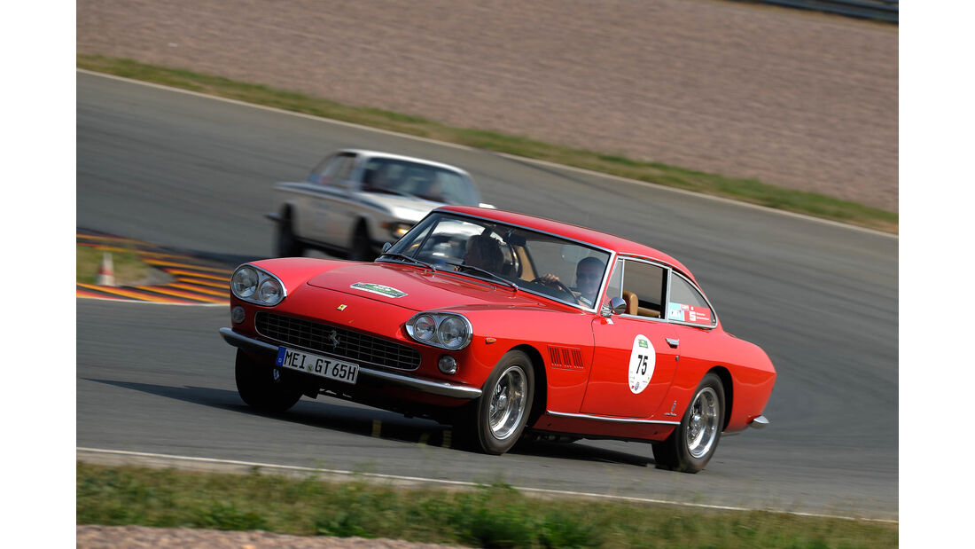 Sachsen Classic 2015, V12-Ferrari Volker Wittig