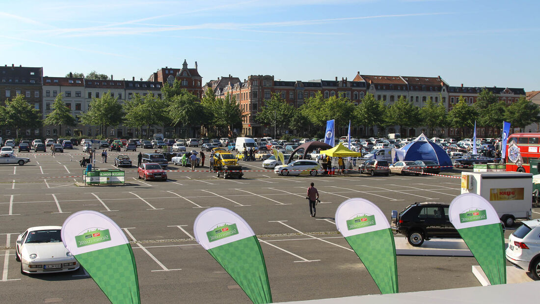 Sachsen Classic 2016, Start, Tag 1