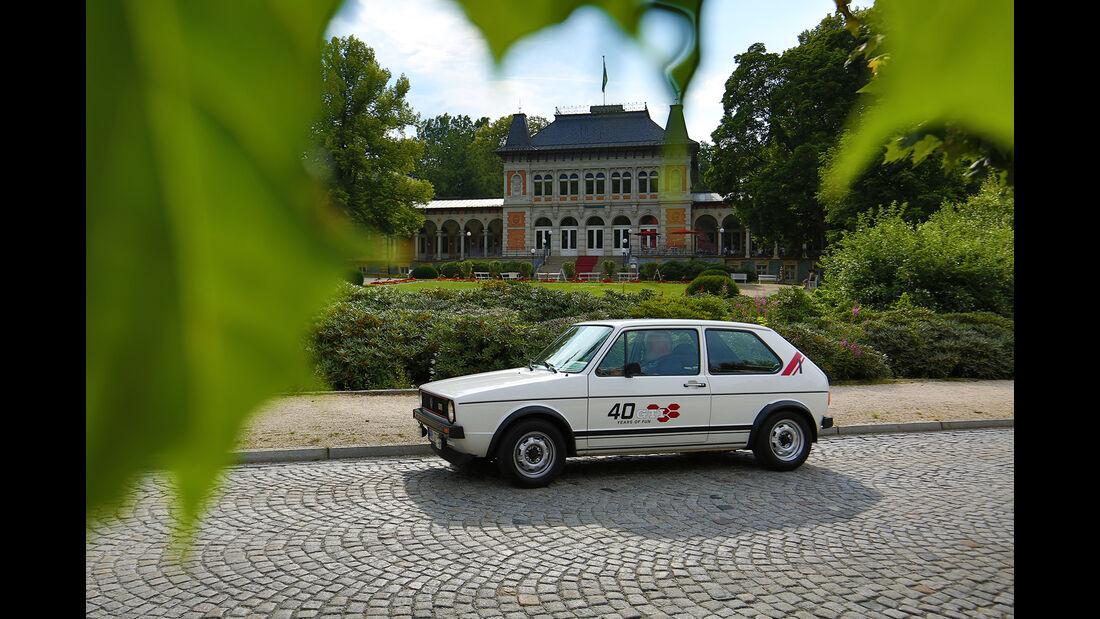 Sachsen Classic 2016, VW Golf 1 GTI