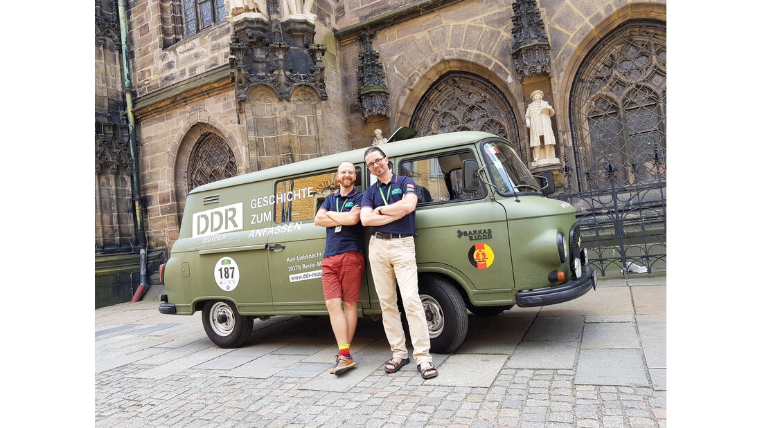 Sachsen Classic 2018, DDR-Museum, Barkas B 1000