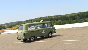 Sachsen Classic 2018, DDR-Museum, Barkas B 1000