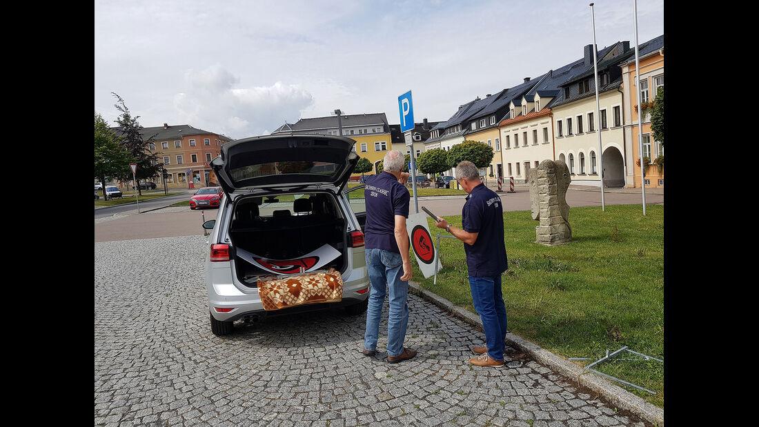 Sachsen Classic 2018, Frauenstein, Durchfahrtskontrolle