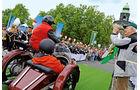 Sachsen Classic, Die Strecke: Im Dreieck Zwickau, Leipzig und Dresden - Motorräder