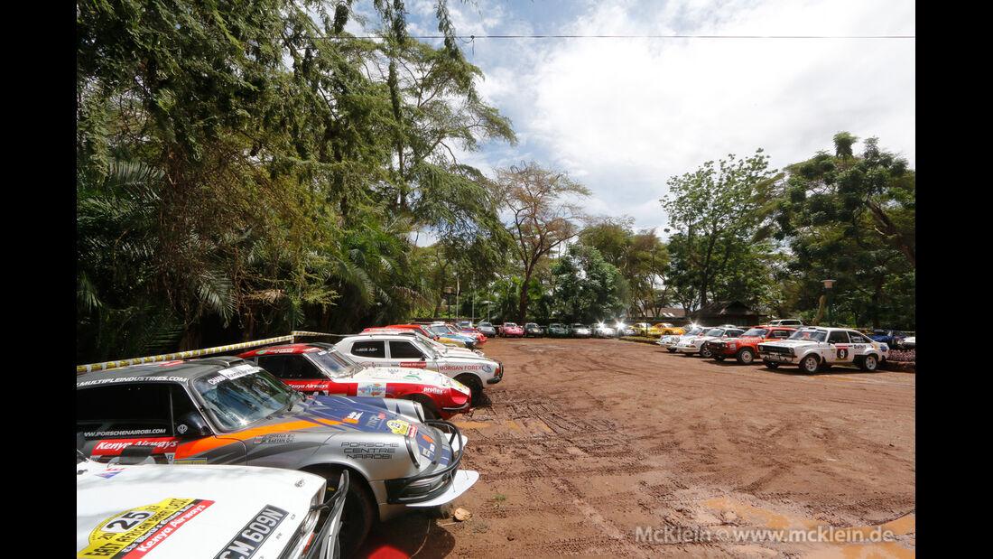 Safari-Revival Ostafrika, Fahrerlager