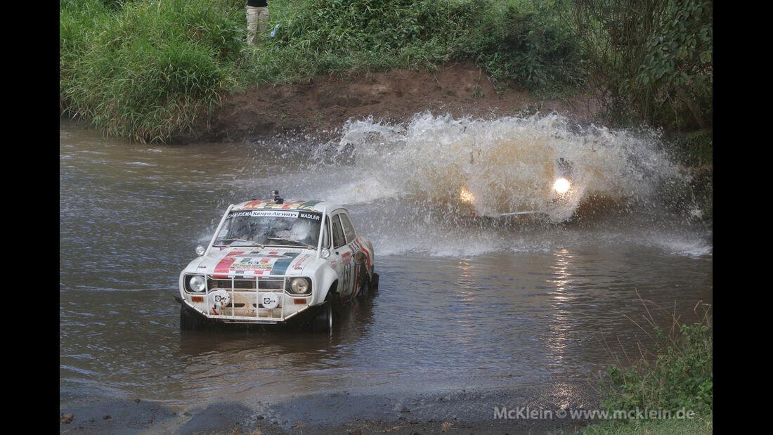 Safari-Revival Ostafrika, Madler, Wasserdurchfahrt