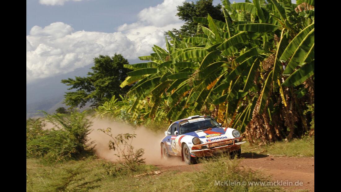 Safari-Revival Ostafrika, Porsche 911, Rennszene