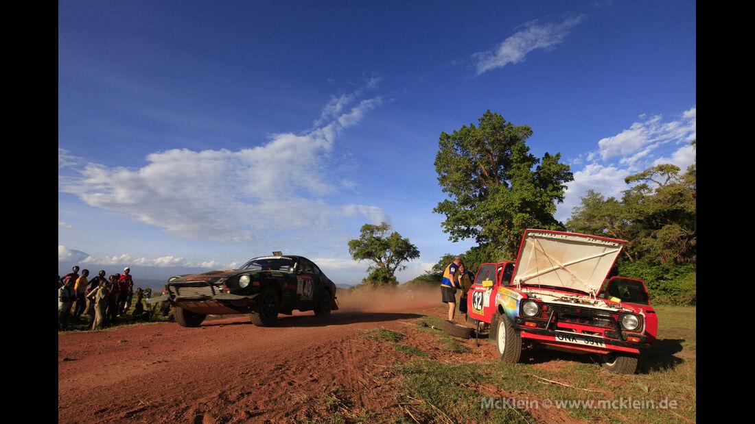 Safari-Revival Ostafrika, Rennszene, Schaden