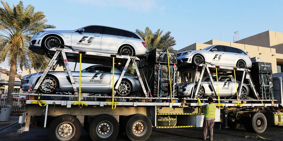 Safety-Car - Abu Dhabi Test 2014