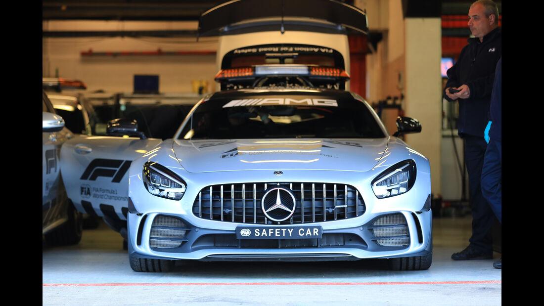 Safety-Car - Barcelona - F1-Test - 26. Februar 2019