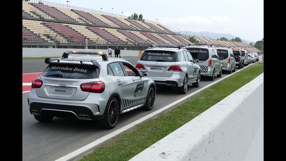 Safety-Car-Flotte - Formel 1 - GP Spanien - Barcelona - 10. Mai 2018