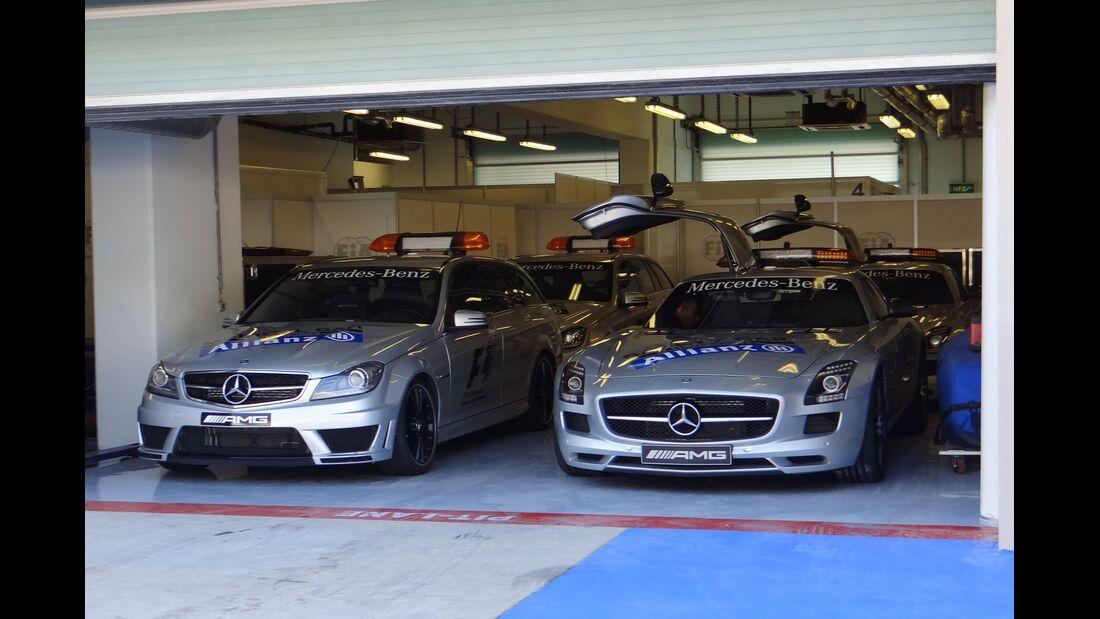 Safety Car  - Formel 1 - GP Abu Dhabi - 01. November 2012