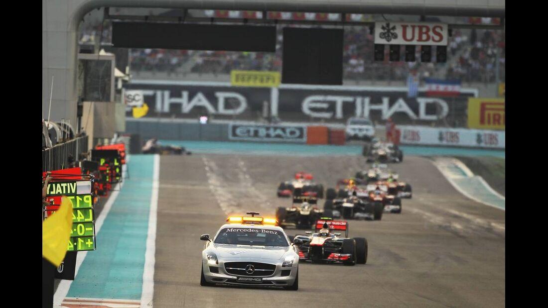 Safety Car  - Formel 1 - GP Abu Dhabi - 04. November 2012
