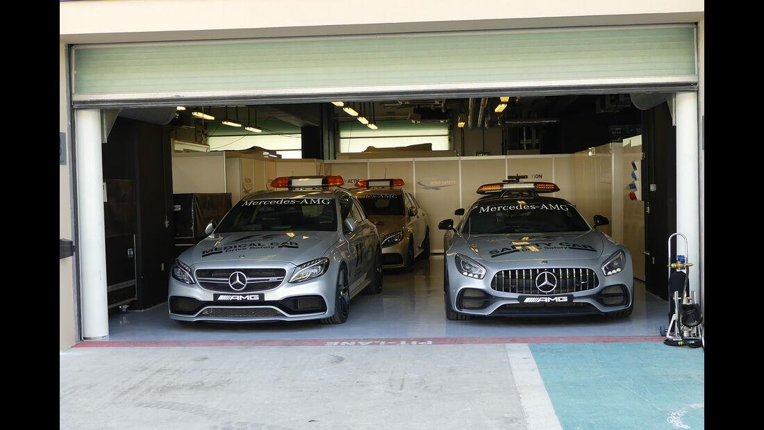 Safety-Car - Formel 1 - GP Abu Dhabi - 23. November 2017