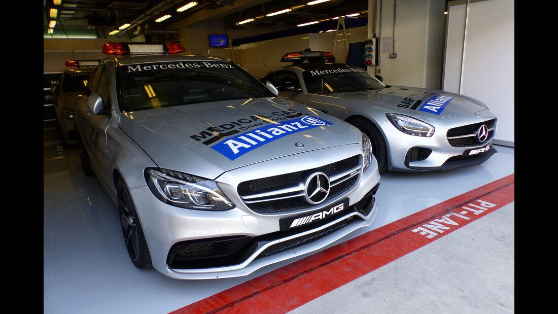 Safety-Car - Formel 1 - GP Abu Dhabi - 26. November 2015